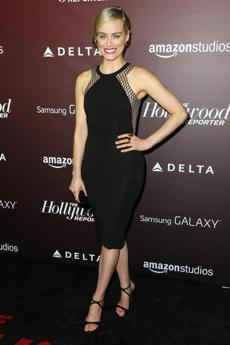 Taylor Schilling at The Hollywood Reporter's gala.
